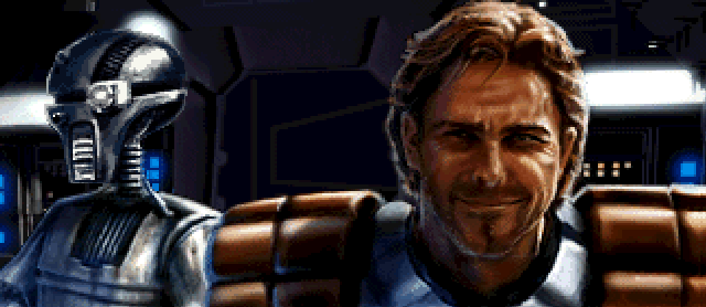 Dash in the 'Shadows of the Empire' video game.