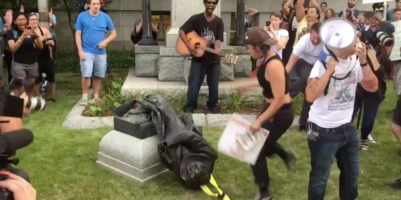 durham confederate fallen soldiers monument