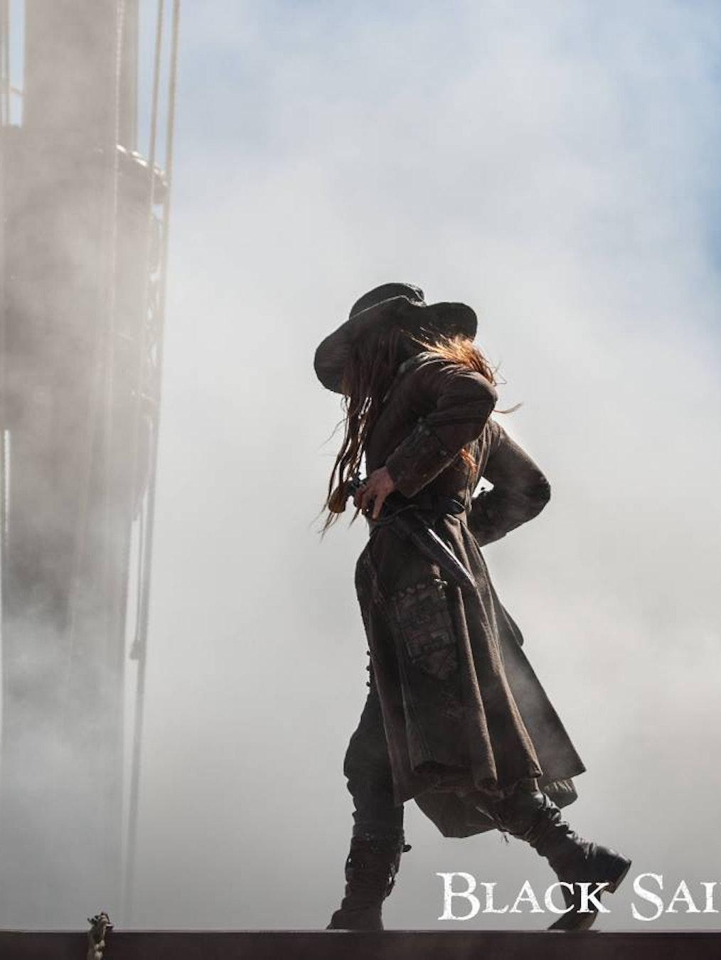 Amnne Bonny gets lethal in 'Black Sails' Season 4