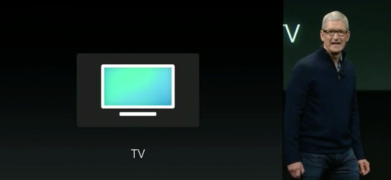 """We simply call it ... TV."""