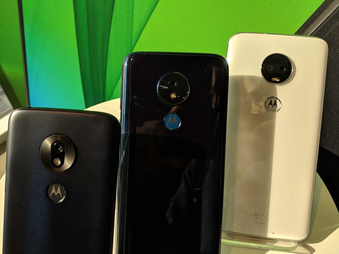 moto g7 smartphone
