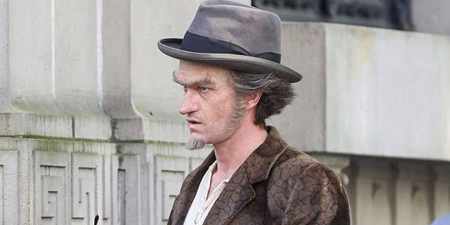 Neil Patrick Harris in his Count Olaf getup, April 2016.