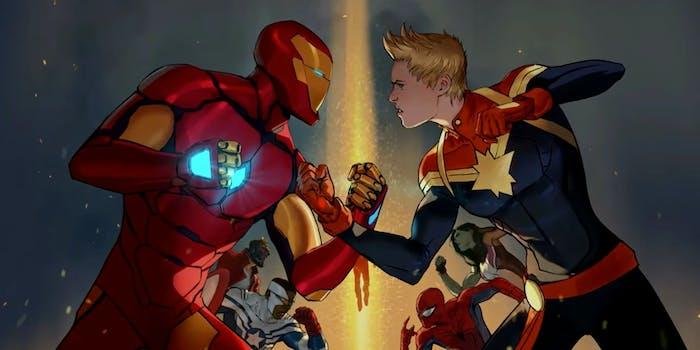 Captain Marvel in Civil War II