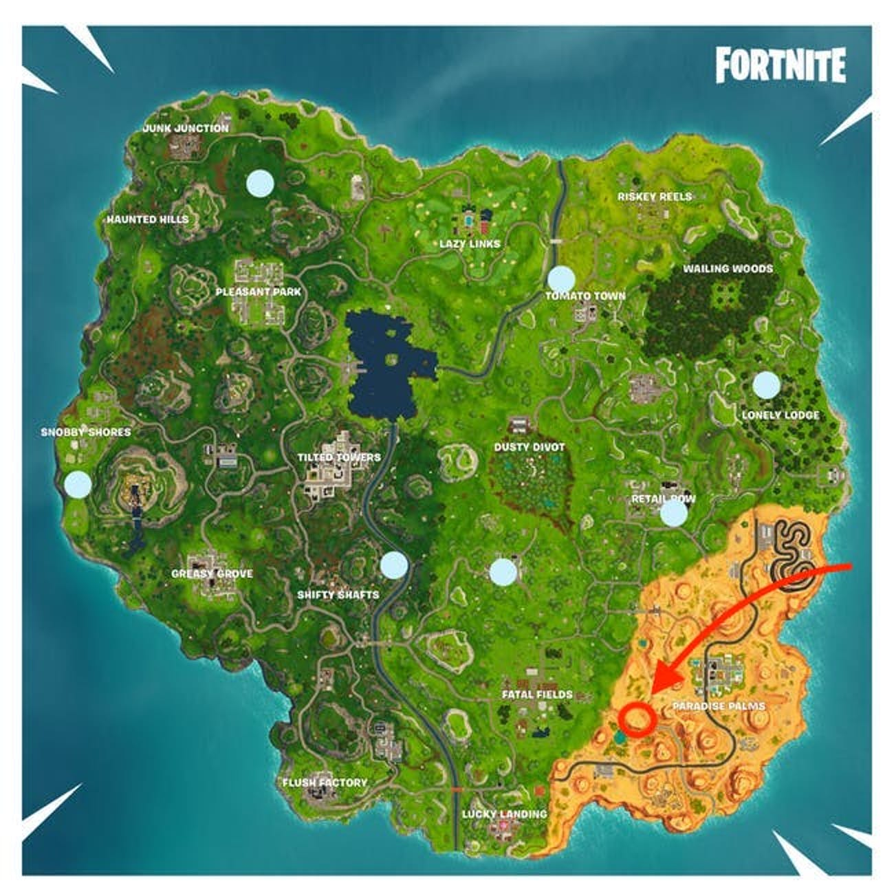 Fortnite' Week 6 Challenges: Even More Timed Trials ... on