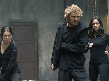 The Defenders Iron Fist