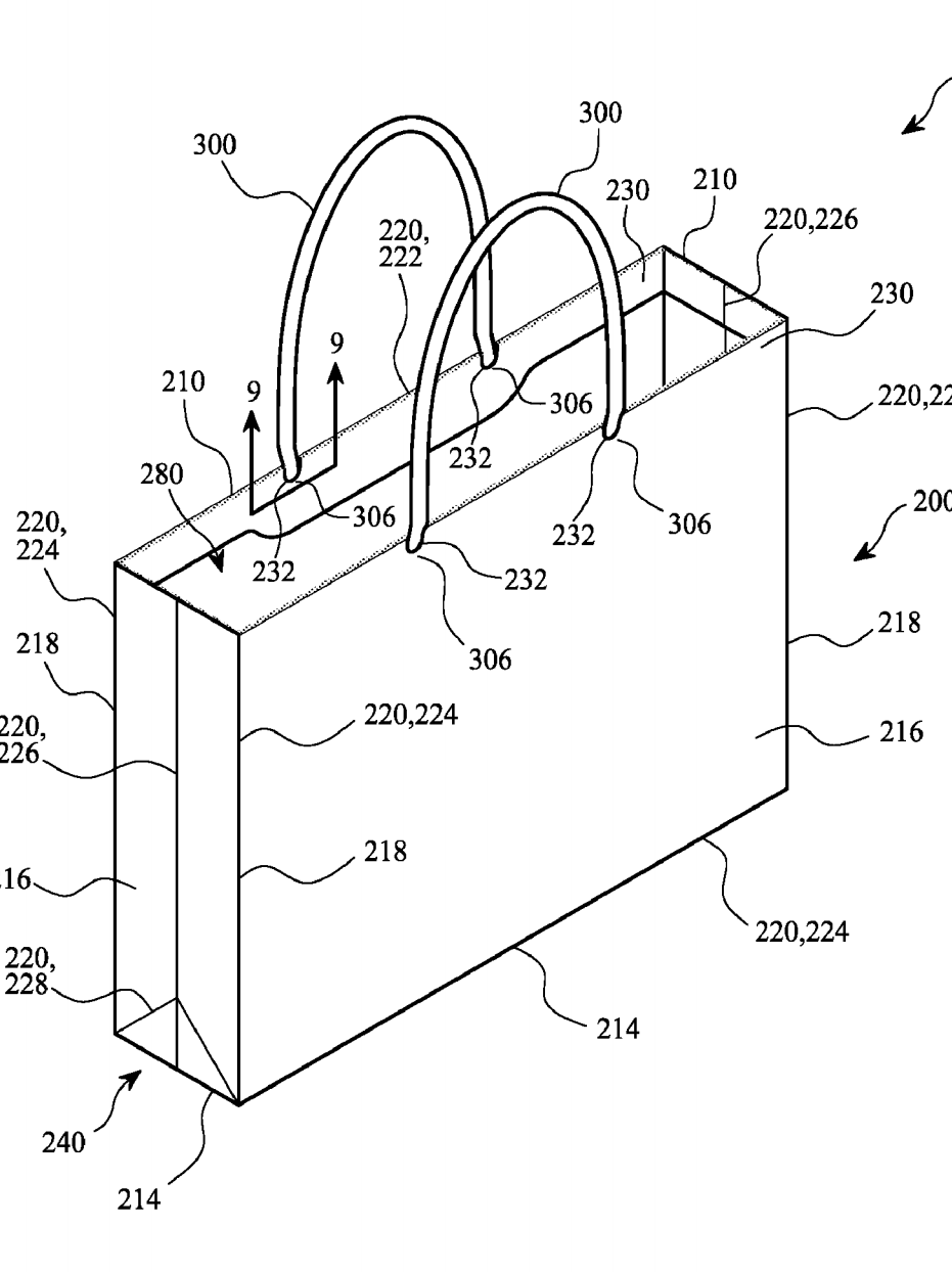 Apple patented a literal paper bag.