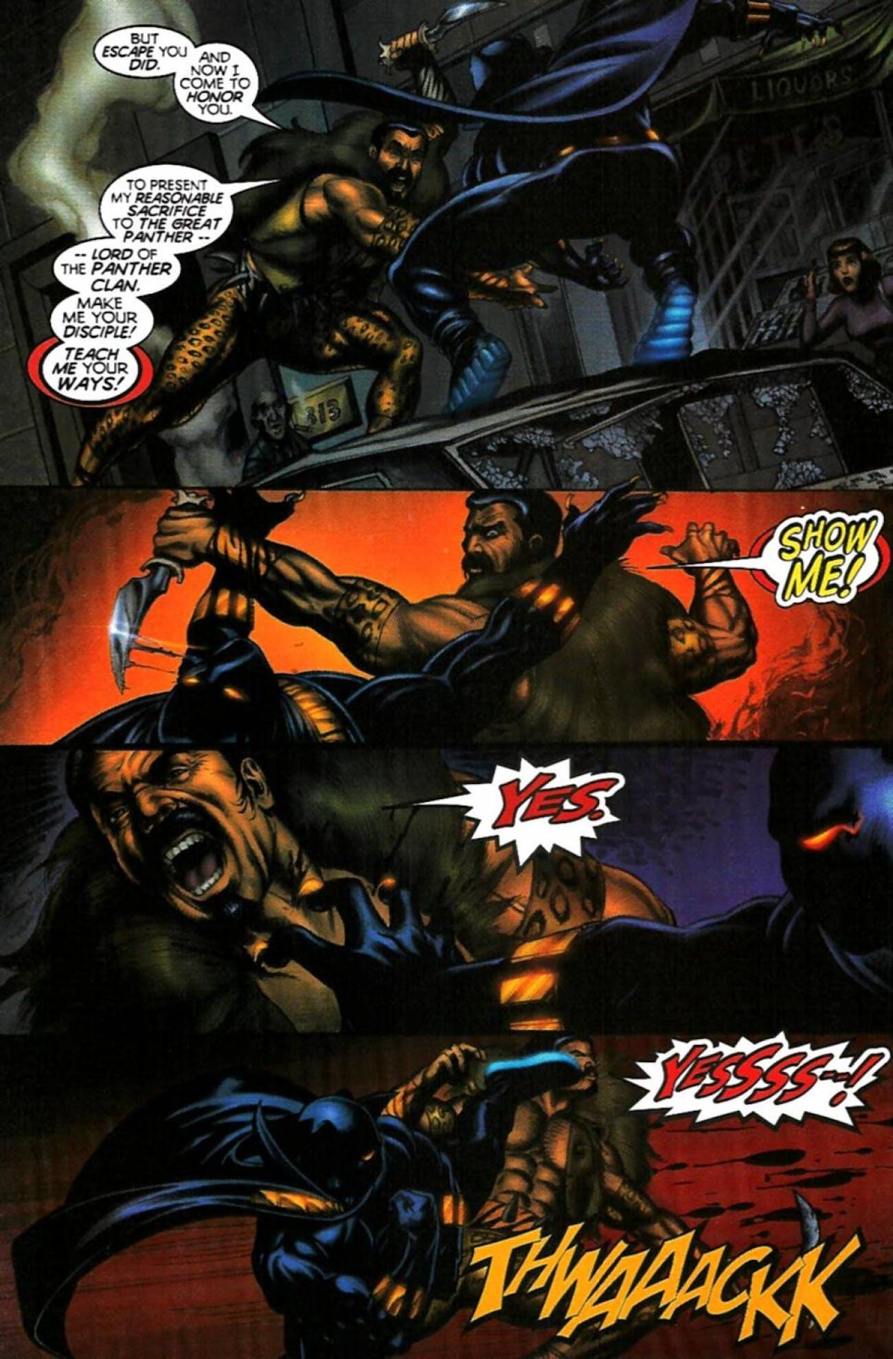 Black Panther Kraven the Hunter