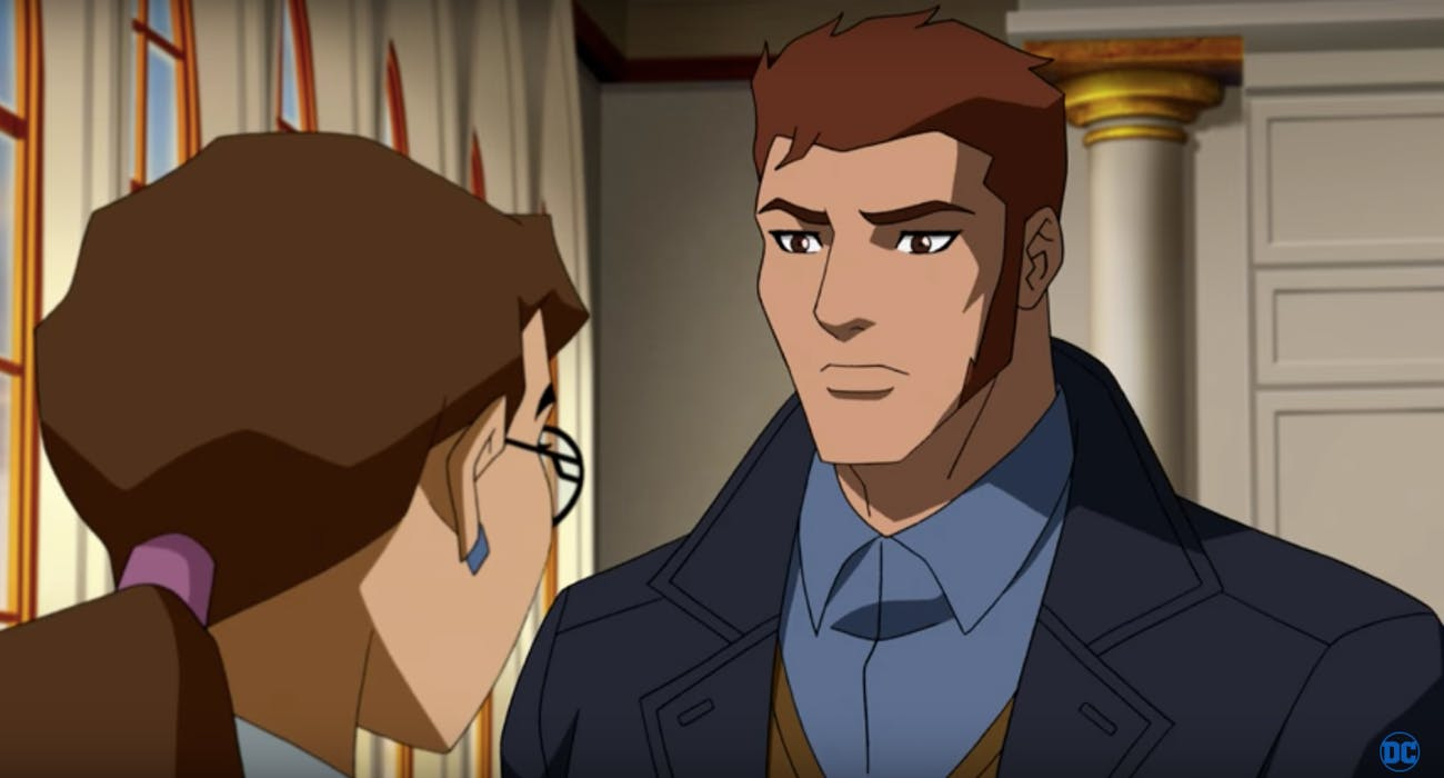 Brion Markov is the Prince of Markovia, but after his meta-human genes activates, he becomes Geo-Force in 'Young Justice: Outsiders'.
