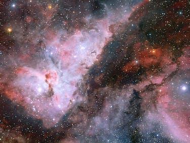 Amazing New Images Capture Binary Star's Violent Stellar Storm