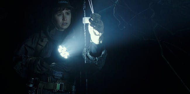Katherine Waterston looks like Ripley in this 'Alien: Covenant' photo.