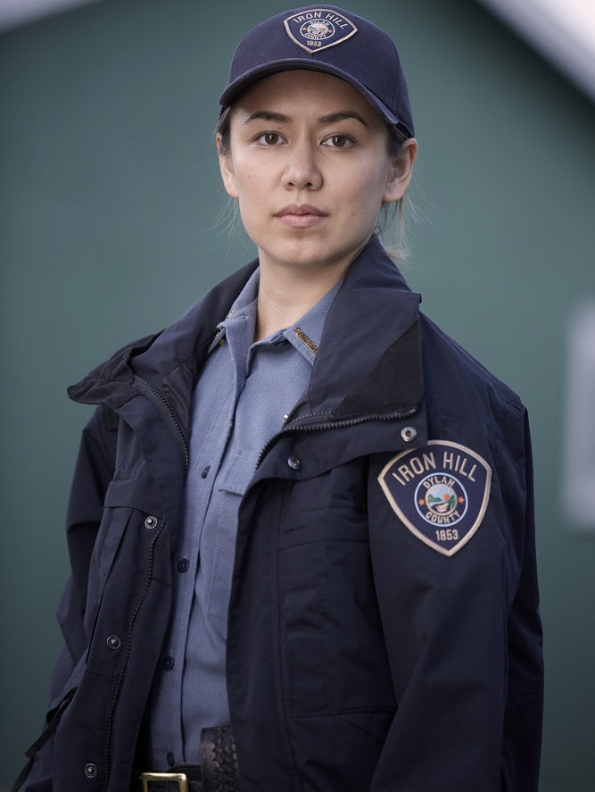 Luisa D'Oliveira as Deputy Sheriff on 'Channel Zero: Candle Cove'