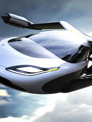 Larry Page's two companies will try to muscle in on the flying-car competition.