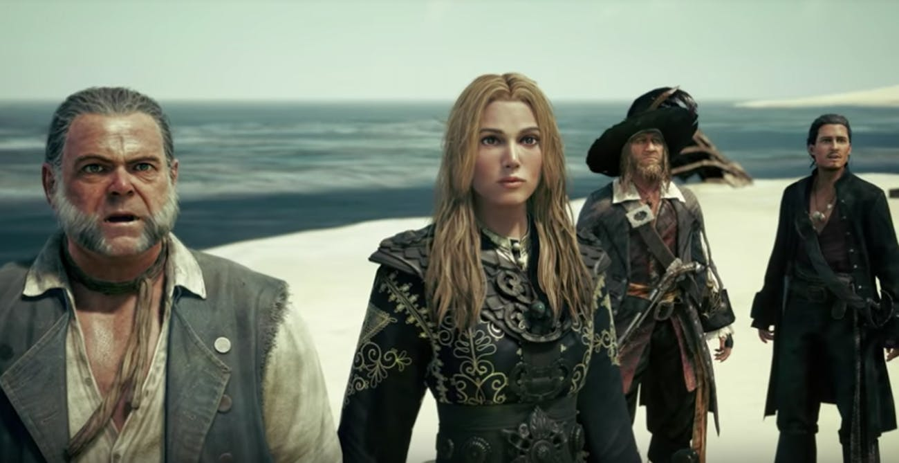 'Kingdom Hearts III' go to Port Royal from 'Pirates of the Carribean'.