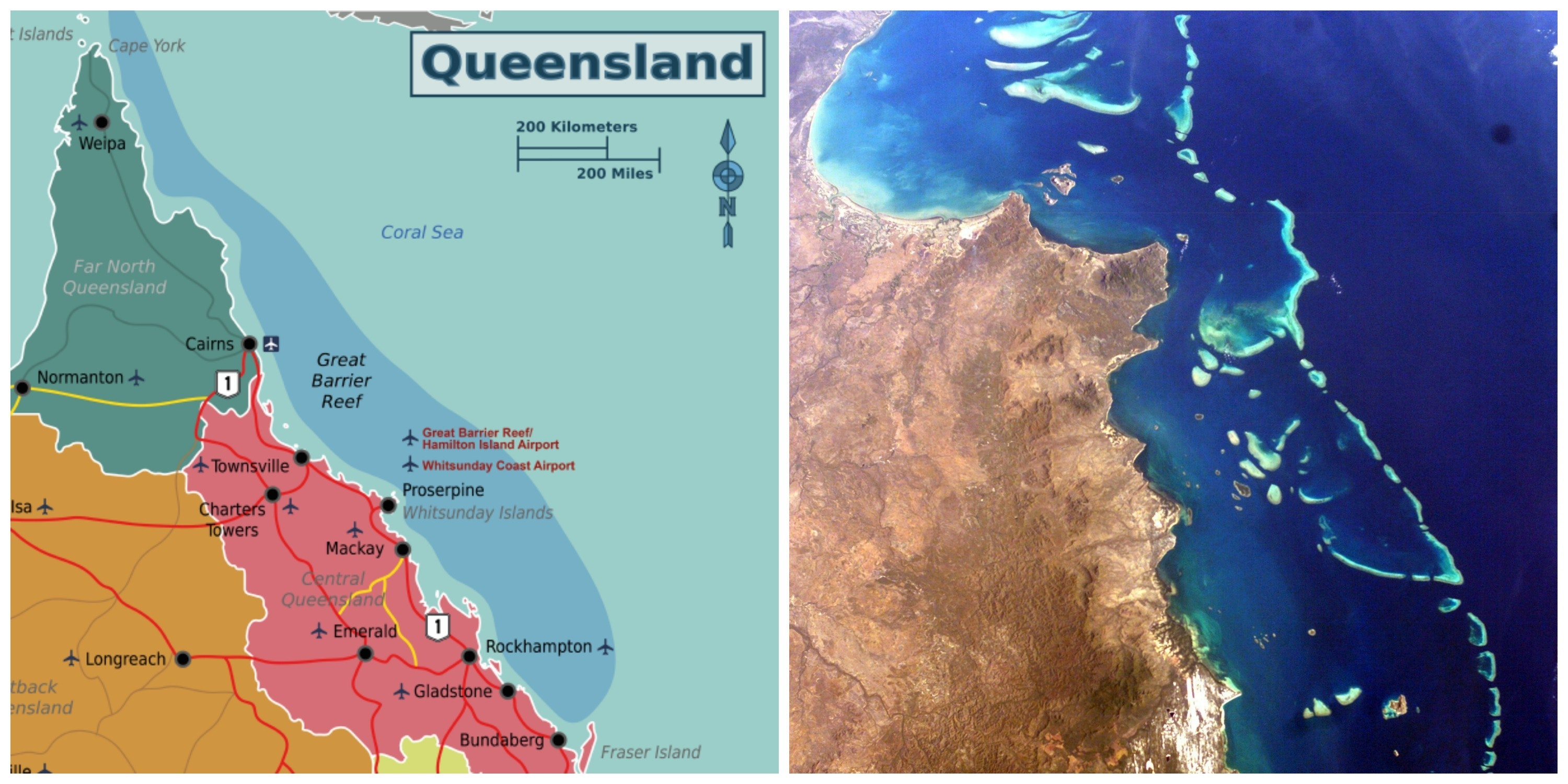 Barrier Reef Australia Map.How Many Types Of Coral Are There In The Great Barrier Reef Inverse
