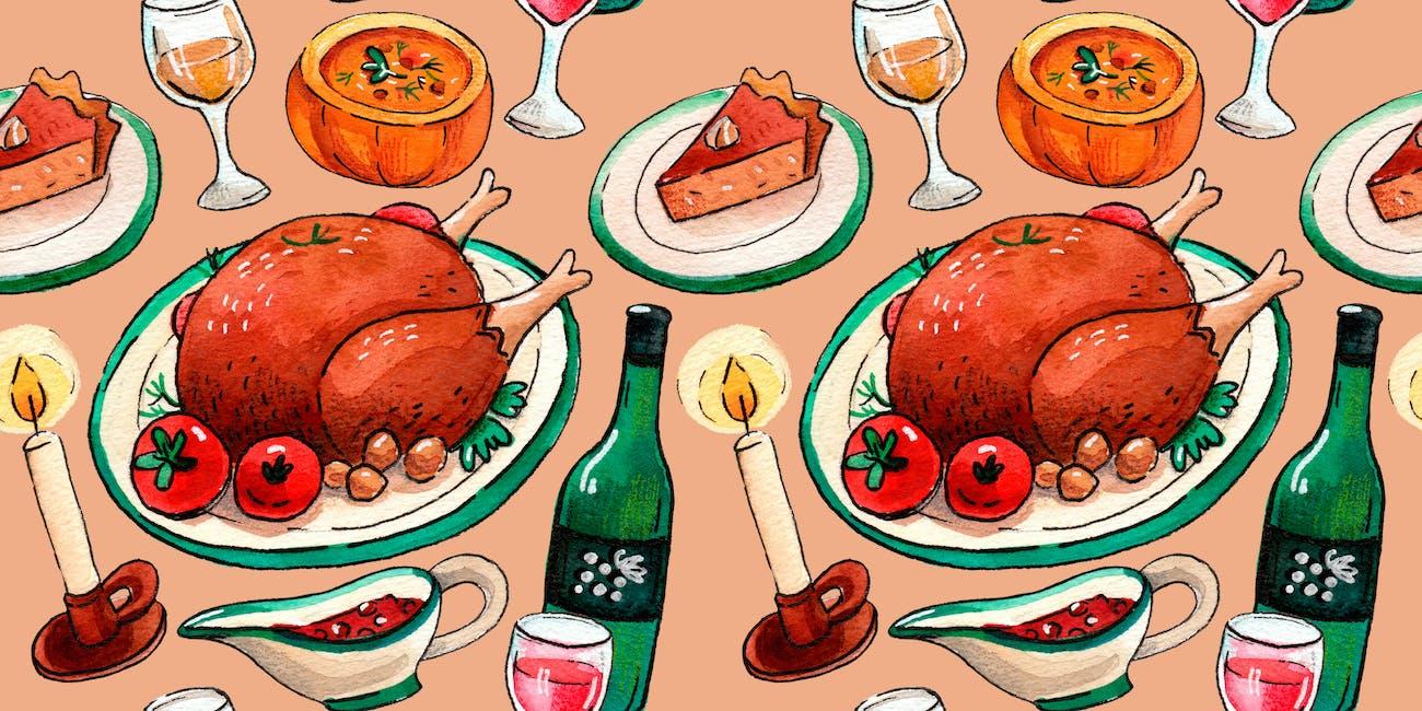 holiday food, feast