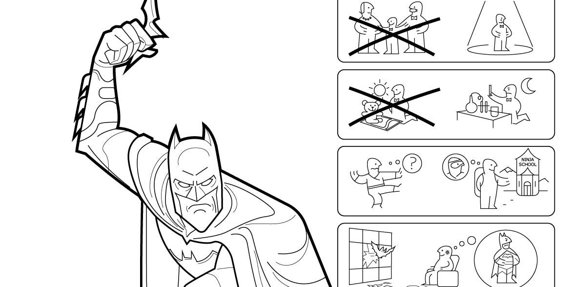 Batman Ikea origins