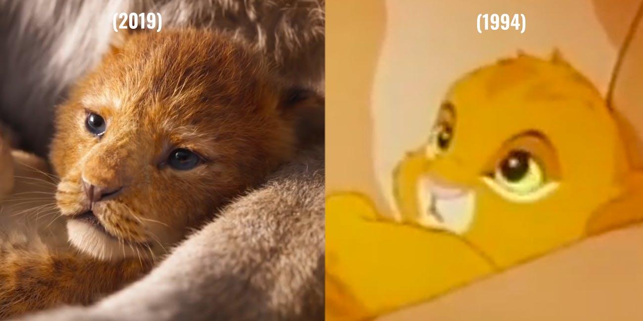 The Lion King 2019  v. The Lion King 1994