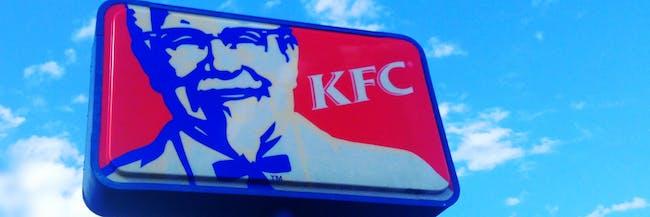 KFC Kentucky Fried Chicken KFC Restaurant Sign Logo