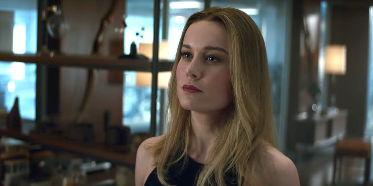 Carol Danvers Brie Larson Captain Marvel
