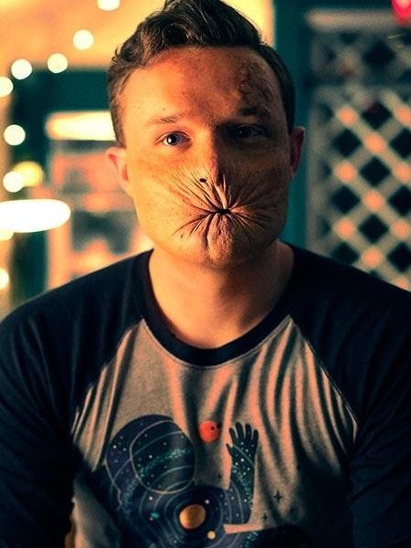 Ian Colletti as 'Arseface'