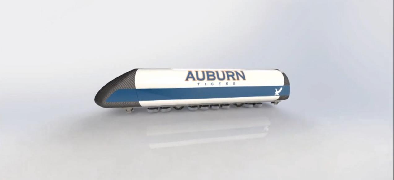 The Auburn Hyperloop pod design.