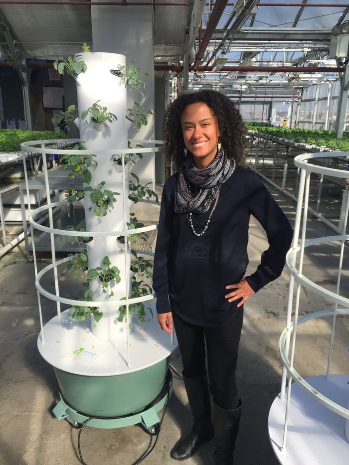 Electra Jarvis of Green Food Solutions.
