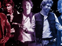 All the versions of Han Solo you love.