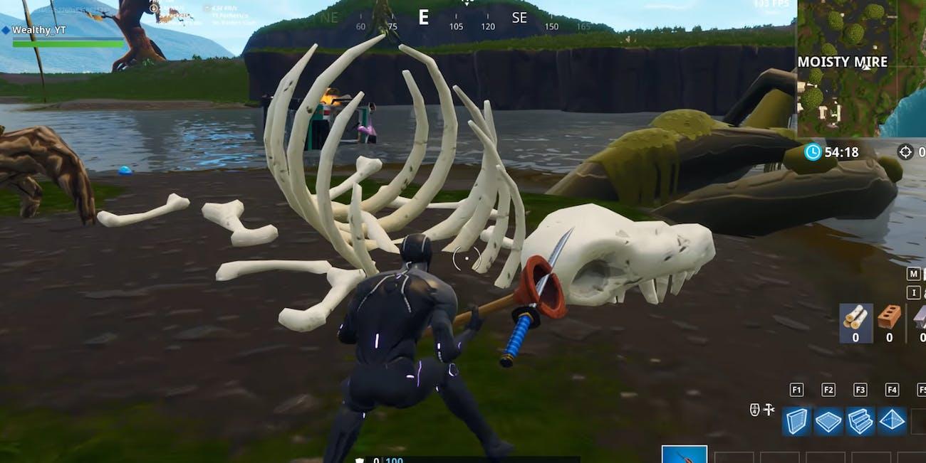 'Fortnite' Skeleton