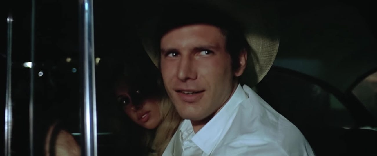 Harrison Ford in 'American Graffiti'