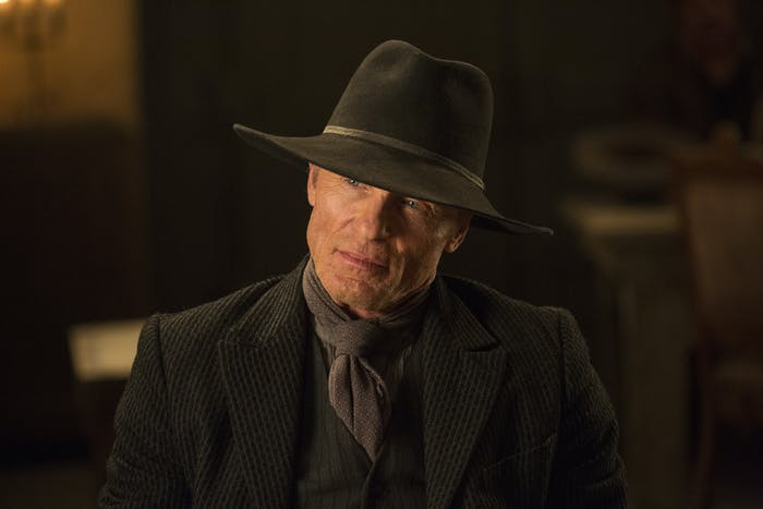 Ed Harris as the Man in Black in 'Westworld'