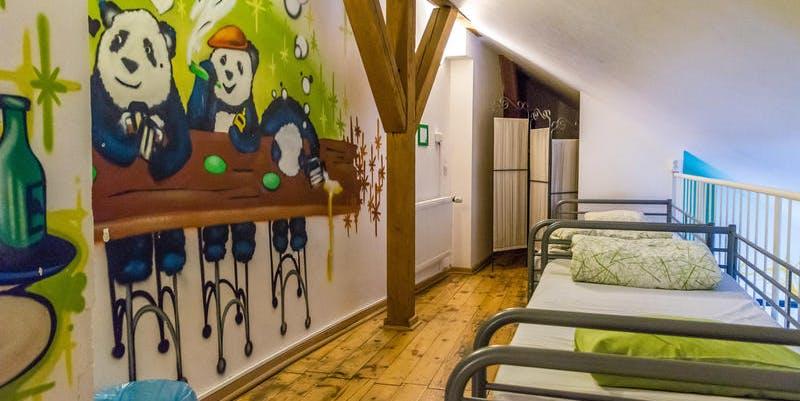 Prague, hostel
