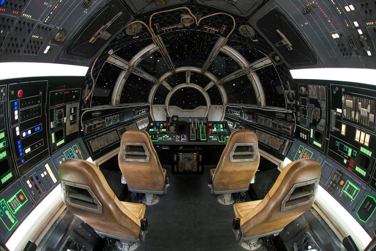 Star Wars Galaxy's Edge Millennium Falcon
