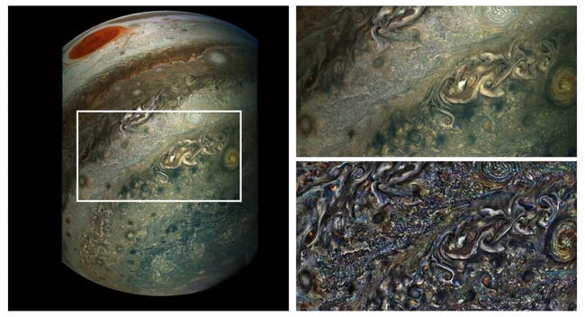 jupiter juno animation atmosphere