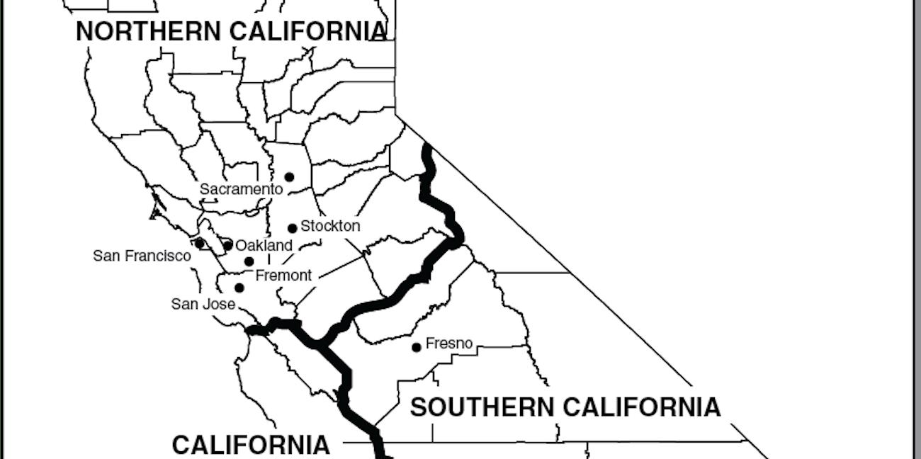 California split three states proposal
