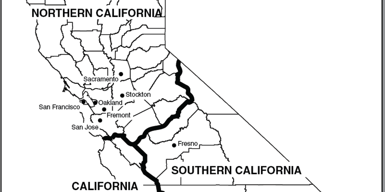 California split three states proposal