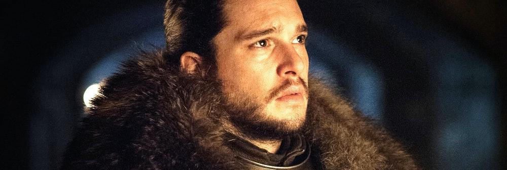 Kit Harington as Jon Snow with Lyanna Stark and Rhaegar Targaryen in 'Game of Thrones' Season 7