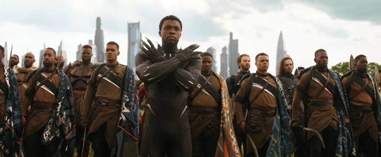 Black Panther Avengers Infinity War