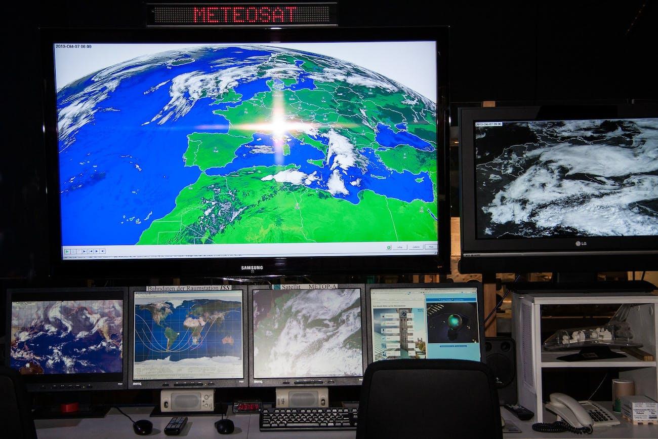 weather satellite data