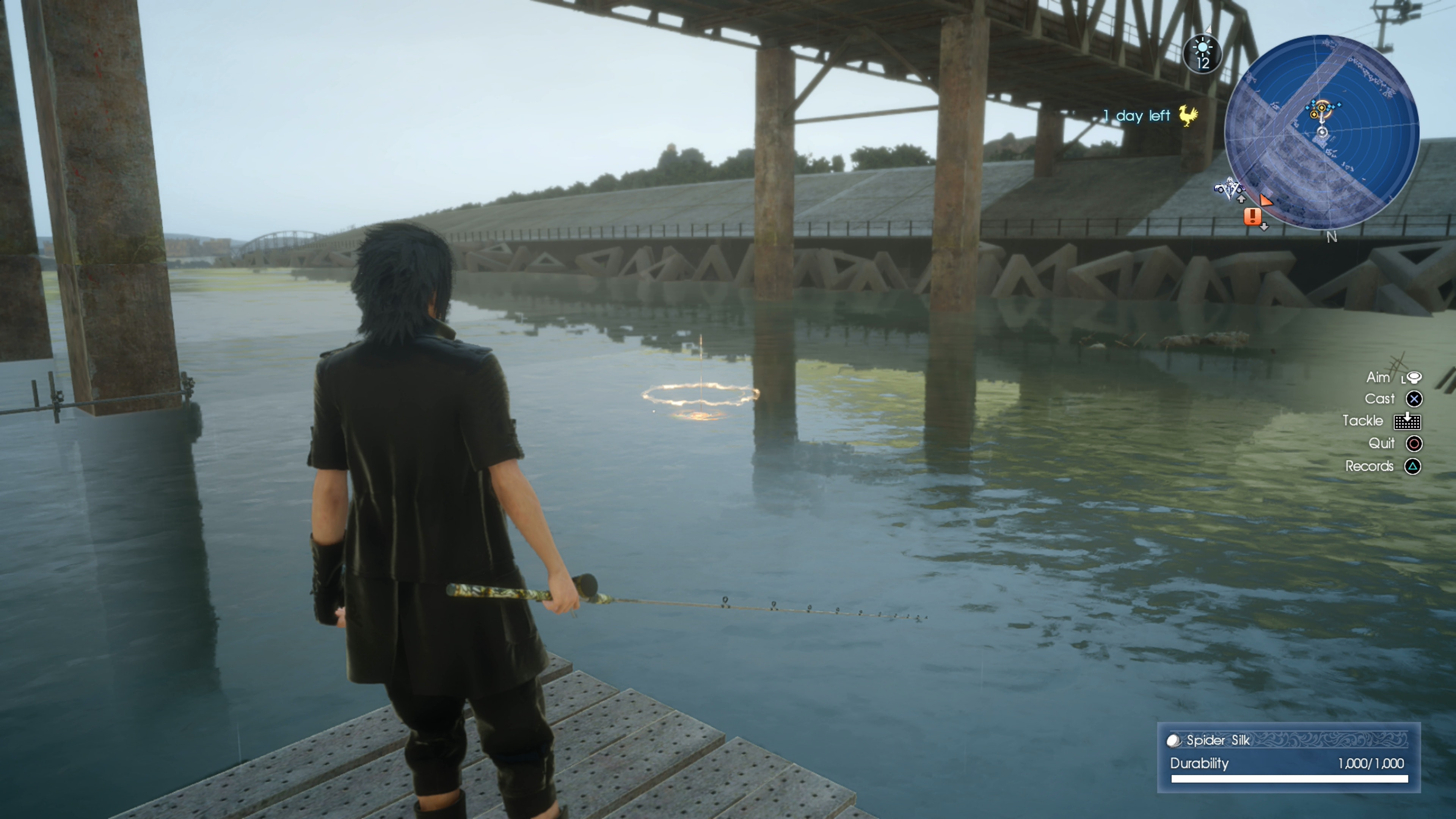 How to get the most out of fishing in final fantasy xv for Final fantasy 15 fishing guide