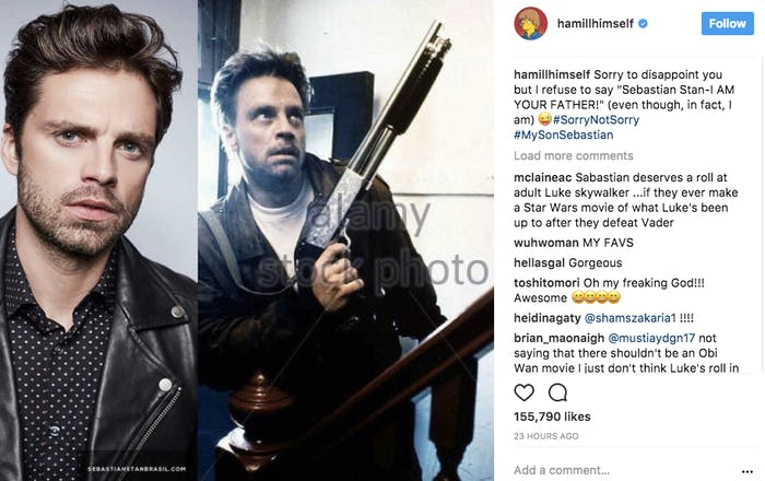 Sebastian Stan Mark Hamill