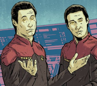 Detail from 'Star Trek: Waypoint' from IDW