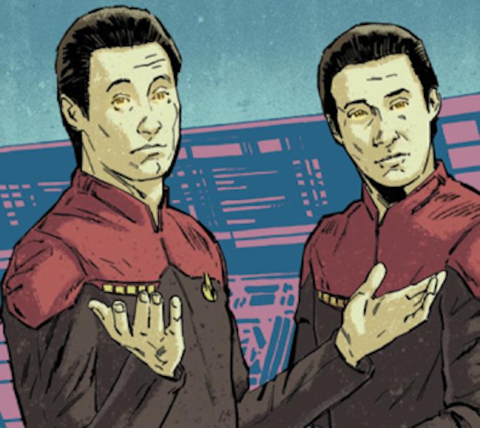 Detail from 'Star Trek: Waypoint' from IDW