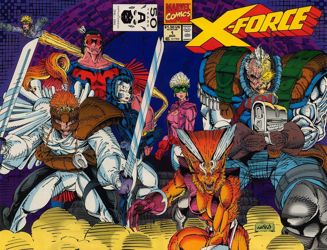 Rob Liefeld X-Force
