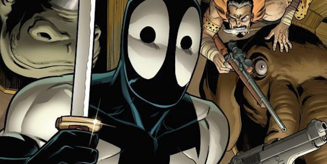 Cover for Deadpool: Back in Black #4