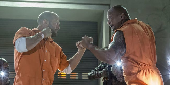Fate of the Furious Rock Jason Statham