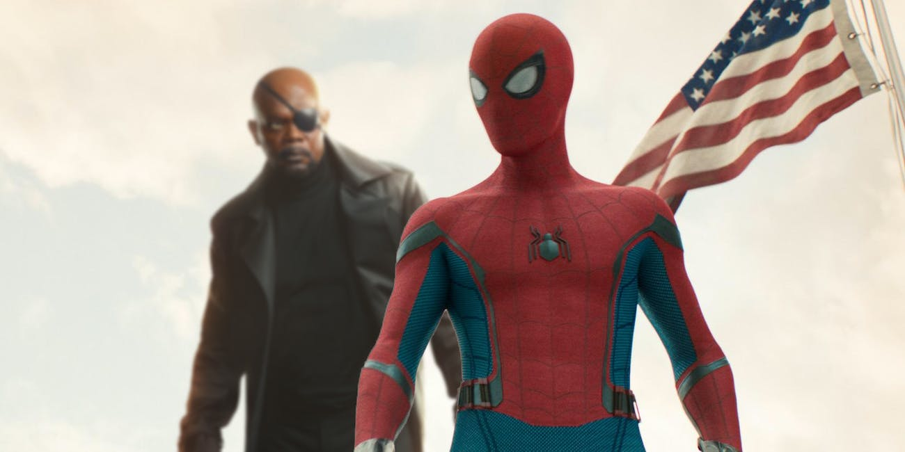 Spider-Man Nick Fury