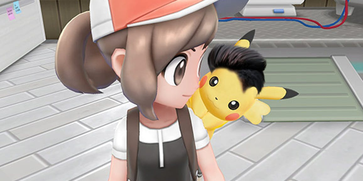 WOW now that's a radical hairstyle for Pikachu.