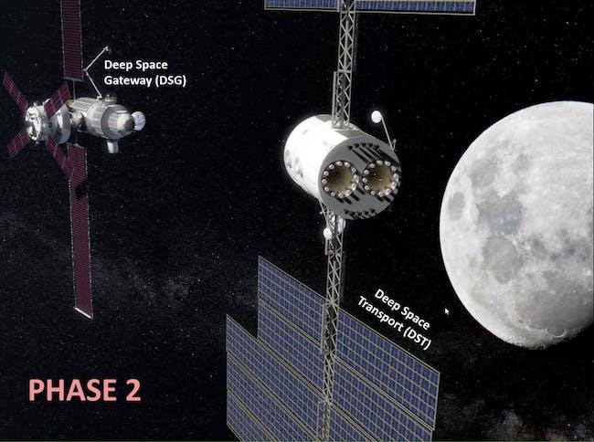 nasa deep space transport