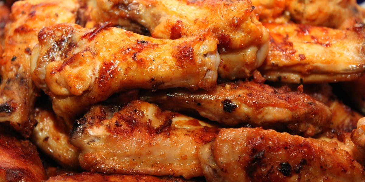BBQ Hot Wings