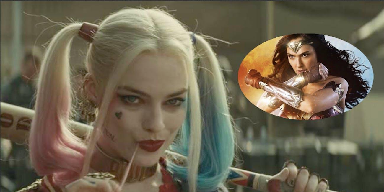 'Suicide Squad','Wonder Woman'